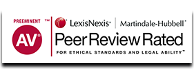 Peer Review Rated - AV Preeminent